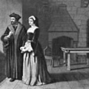 Sir Thomas More (1478-1535) Art Print