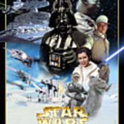 Star Wars Episode V - The Empire Strikes Back 1980 Art Print