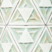 Stone Pattern Art Print
