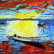 Sunset 4 Art Print