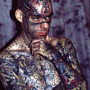 Tattoo Mike Art Print