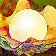 Underwater. Sea Shells Art Print
