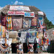 Village Of Coba Art Print