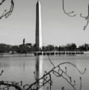 Washington Memorial In Washington Dc Art Print