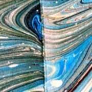 Water Marbling Art, Ebru Art Print