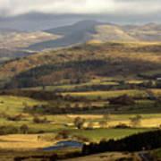 Welsh Mountains Art Print