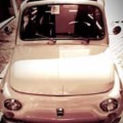 500 Fiat Toned Sepia Art Print