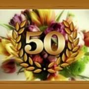 50th Anniversary Art Print