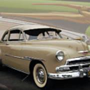 51 Chevrolet Deluxe Art Print by Bill Dutting