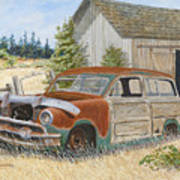 '51 Country Squire Art Print