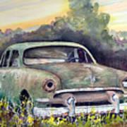 51 Ford Art Print