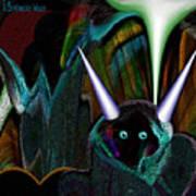 527   Little Alien Being A Art Print