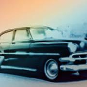 54 Chevy Art Print