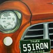55 Iron Art Print
