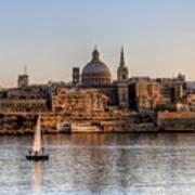 Valletta, Malta Art Print