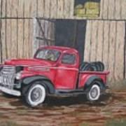 56 Chevy Art Print