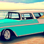 56 Nomad By The Sea In The Morning With Vivachas Art Print