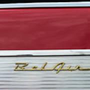 57 Chevy Bel Air Art Print