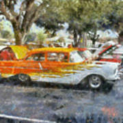 57 Chevy Art Print