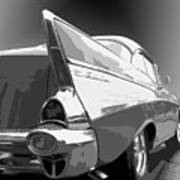 57 Chevy Horizontal Art Print