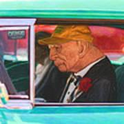 57 Chevy Man Art Print