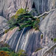 5786- Yellow Mountains  Art Print