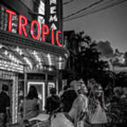 5828- Tropic Theater Art Print