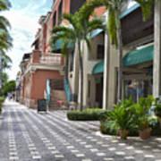 5th Avenue South Naples Florida Art Print