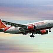 Air India Cargo Airbus A310-304 Art Print