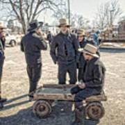 Amish Life Art Print