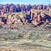 Arches National Park  Moab  Utah  Usa Art Print