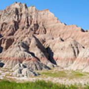 Badlands National Park South Dakota Art Print