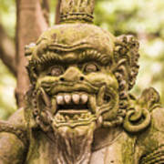 Bali Sculpture Art Print