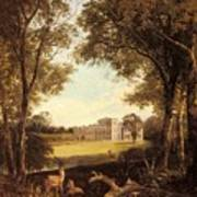 Boddington Henry John A View Of Norton Hall Henry John Boddington Art Print