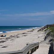 Brevard County Florida Beaches Art Print