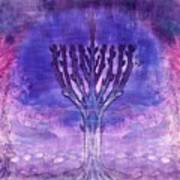 Chanukkah Lights Art Print