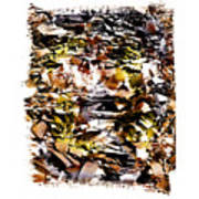 Compressed Pile Of Paper Products Art Print