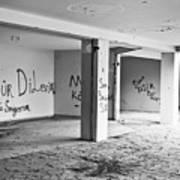 Derelict Building Art Print