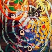 6 Eyes In The Wind Art Print