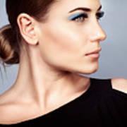 Fashion Woman Portrait Art Print