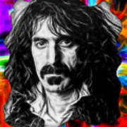 Frank Zappa Collection Art Print