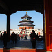 Hall For Prayer Of Good Harvest, Temple Of Heaven, Beijing, China Art Print