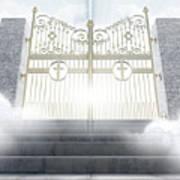 Heavens Gates Art Print