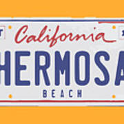 Hermosa Beach. Art Print