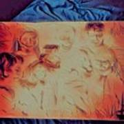 In Heaven With Jesus Art Print