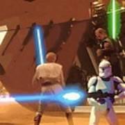 Jedi Star Wars Poster Art Print