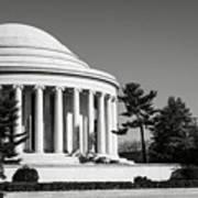 Jefferson Memorial In Washington Dc Art Print