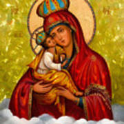 Mary And Child Religious Art Art Print