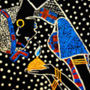 Murle South Sudanese Wise Virgin Art Print
