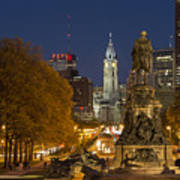 Philadelphia Skyline Art Print